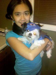 Gracie's Halloween Costume